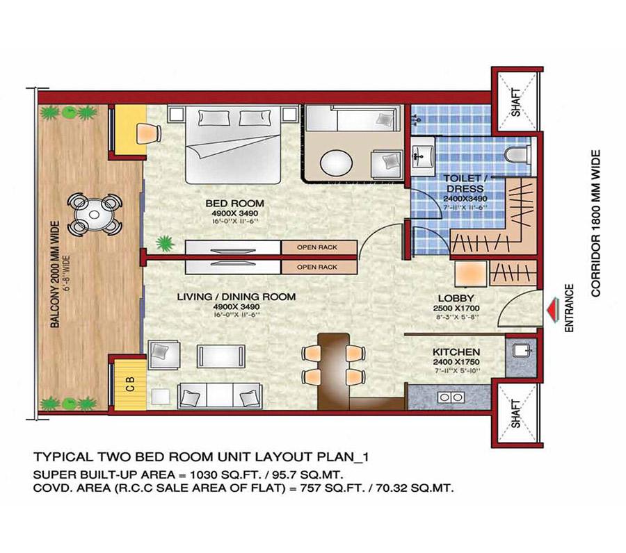 Gaur Studio Apartment