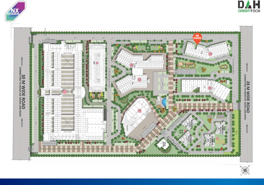 NX One Studio Apartment Site Plan